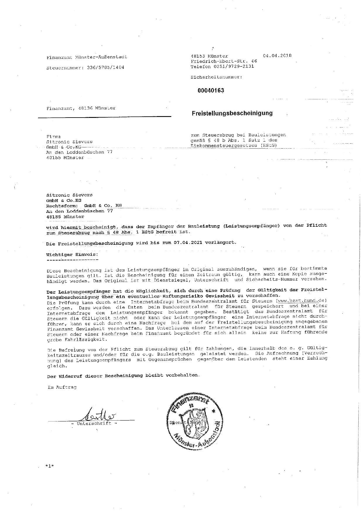 e-Master Zertifikat